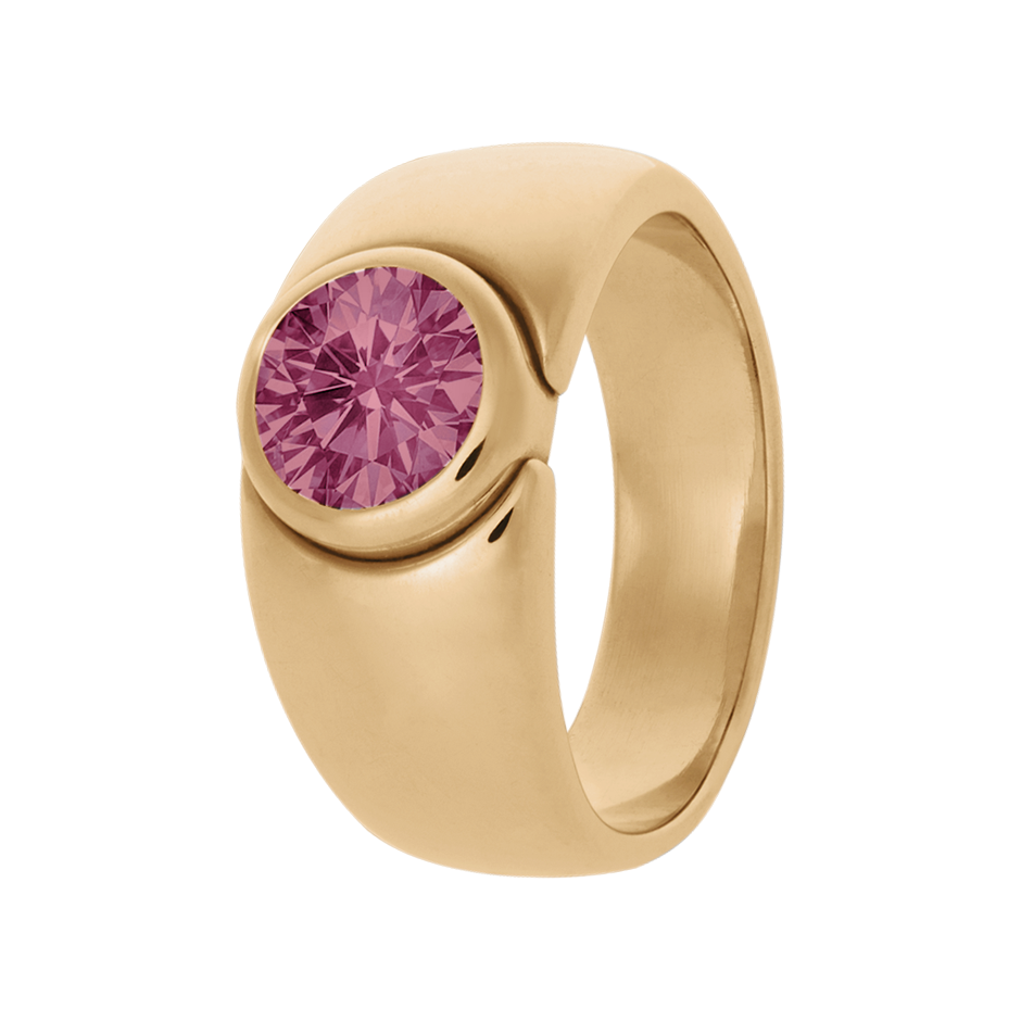 Mantua Tourmaline pink in Rose Gold