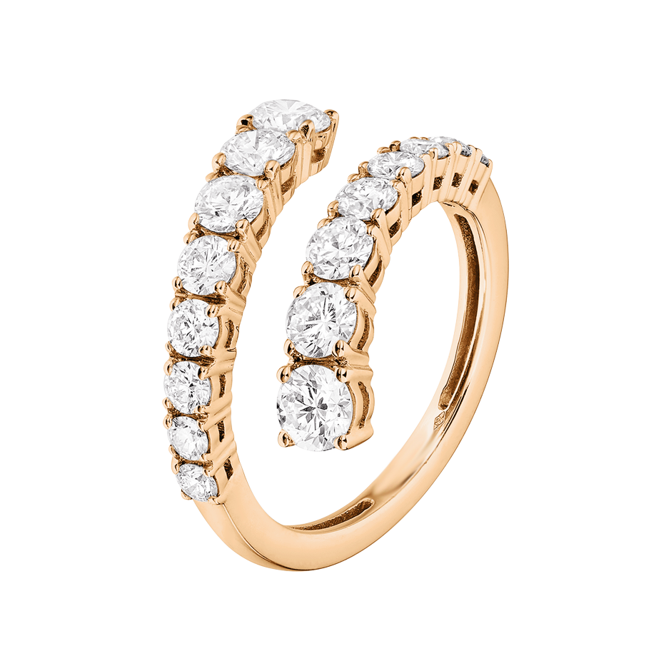 Memoire Ring Cambridge in Roségold