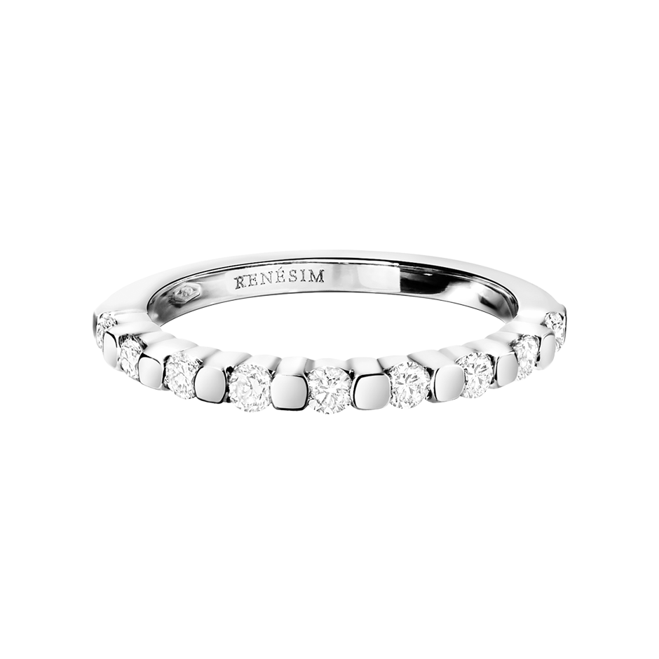 Memoire Ring Knokke H SI in Platin