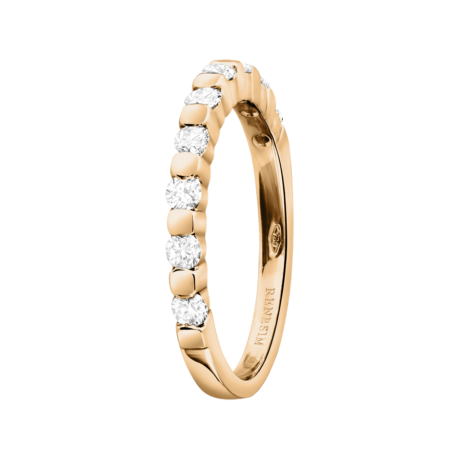 Memoire Ring Knokke H SI in Roségold