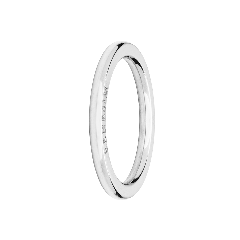 Ring Classics in White Gold