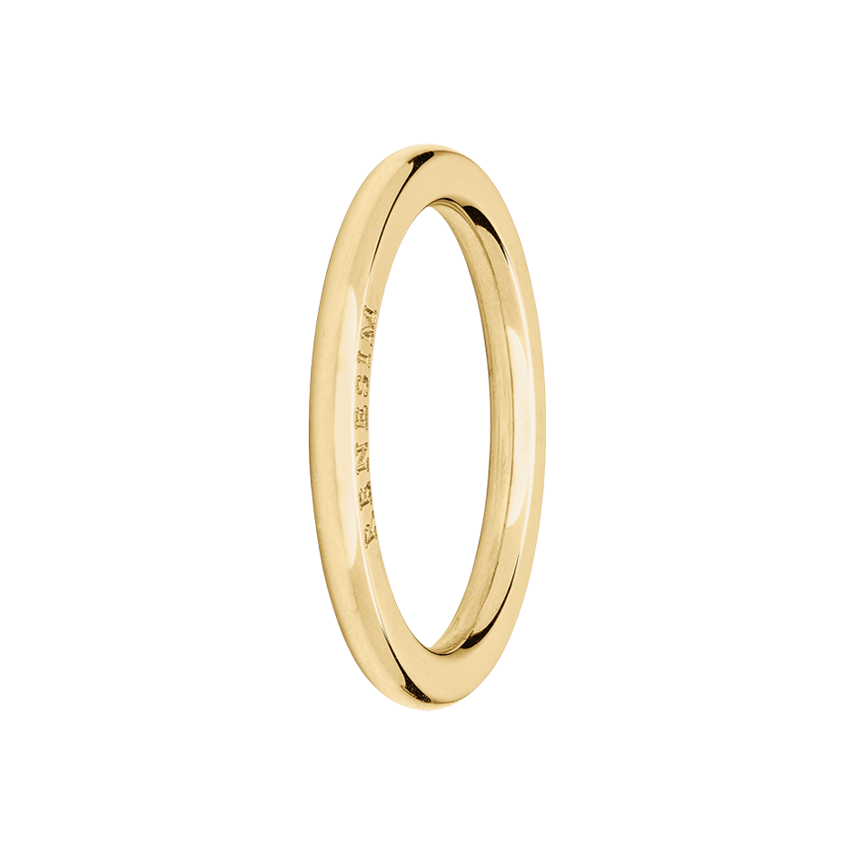 Ring Classics in Yellow Gold
